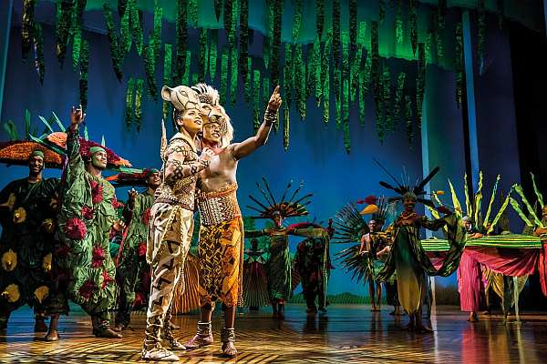 Disney's The Lion King at the Lyceum Theatre, London. Credit Johan Persson