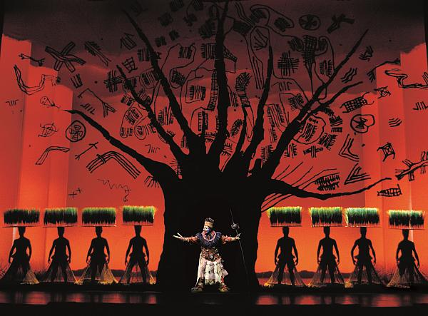 Disney's The Lion King at the Lyceum Theatre, London. Photo by Catherine Ashmore