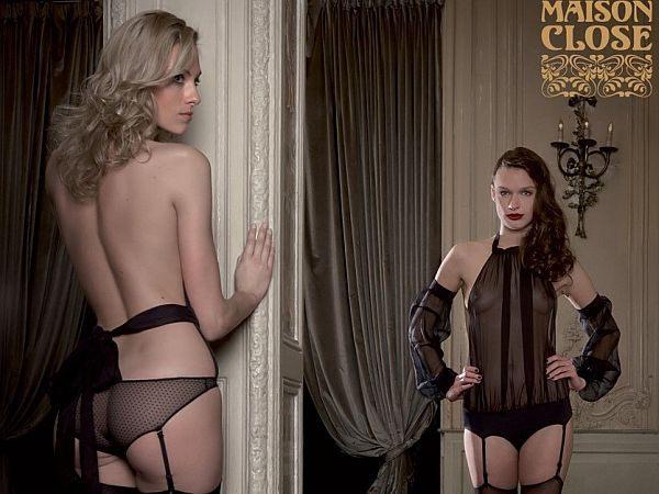Maison Close luxury erotic lingerie