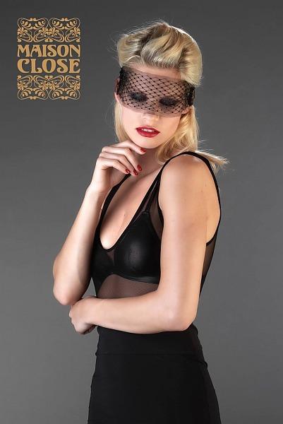 Maison Close Masque. Partly transparent and seductive
