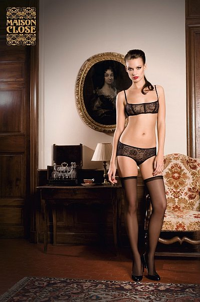 Maison Close erotic and sensual seduction, all part of luxury lingerie