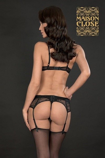 Maison Close Suspender Belt & Luxury Stockings
