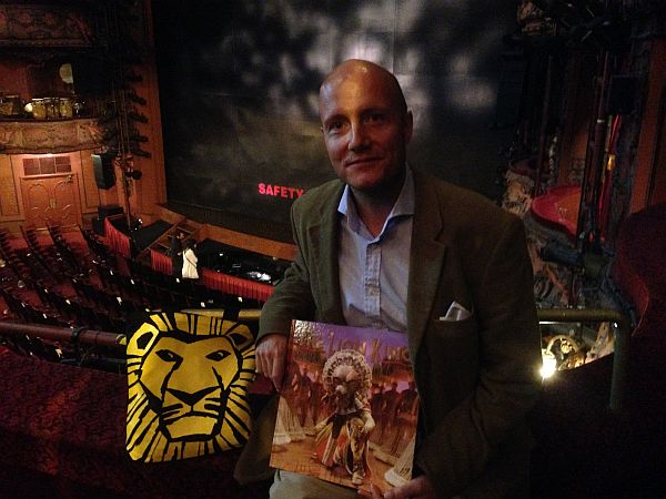 The Lion King with Gentlemans Butler in London