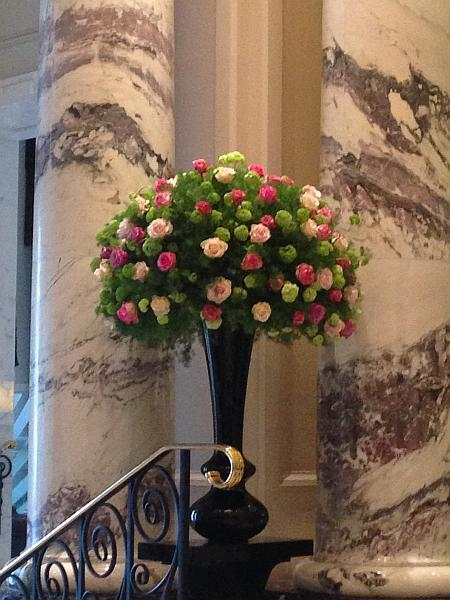 The Langham London Easter Flowers