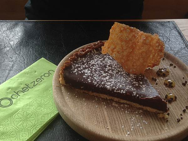 Crans Montana, Spring luxuries in the Mountains - Chetzeron Hotel, chocolate tart