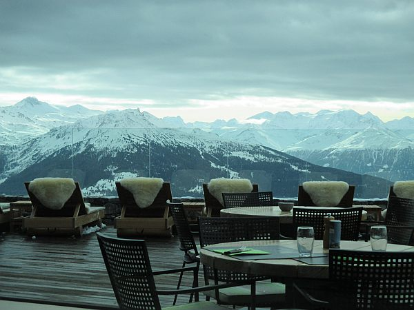 Crans Montana, Spring luxuries in the Mountains - Chetzeron hotel, stunning views & sheepskin!