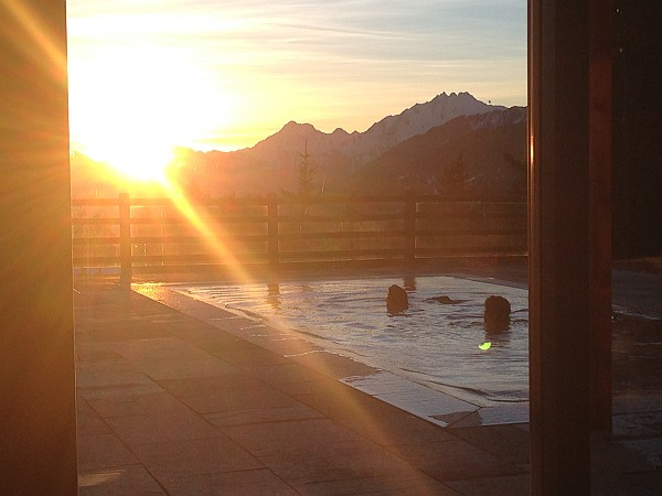 Crans Montana, Spring luxuries in the Mountains - Le Crans Hotel & Swimming Pool