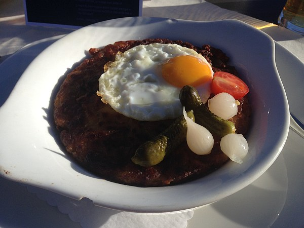 Crans Montana, Spring luxuries in the Mountains - Les Violettes Restaurant, Rosti