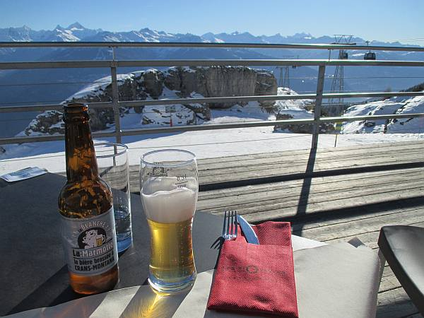 Crans Montana, Spring luxuries in the Mountains - Les Violettes Restaurant