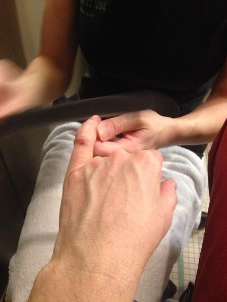 Gentlemen's Tonic, Mayfair, London - Luxury Gentlemans Grooming, manicure