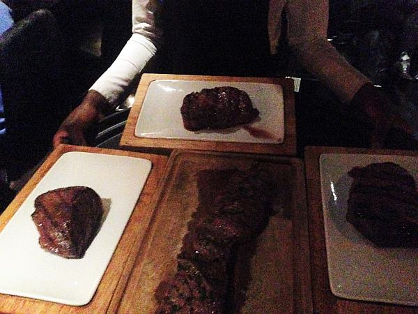 Glamorous Gaucho luxury dining in Piccadilly, London - Argentinian Beef for Guests