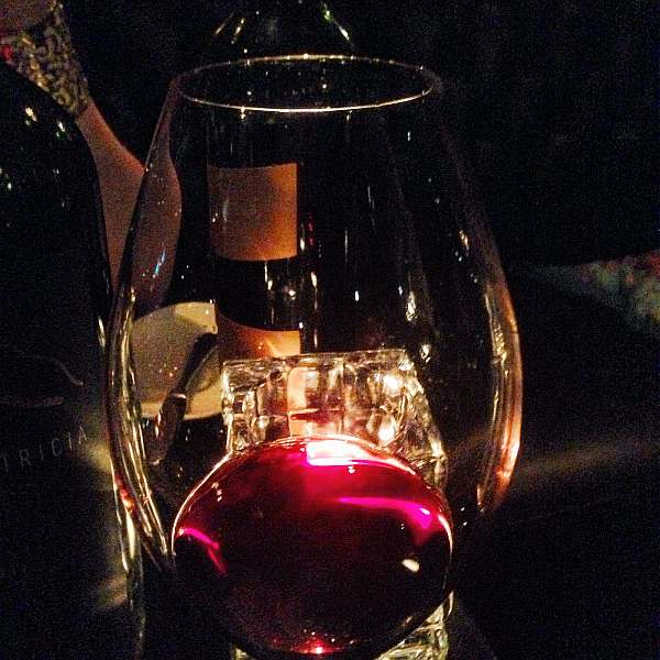 Glamorous Gaucho luxury dining in Piccadilly, London - Fine glass of red wine