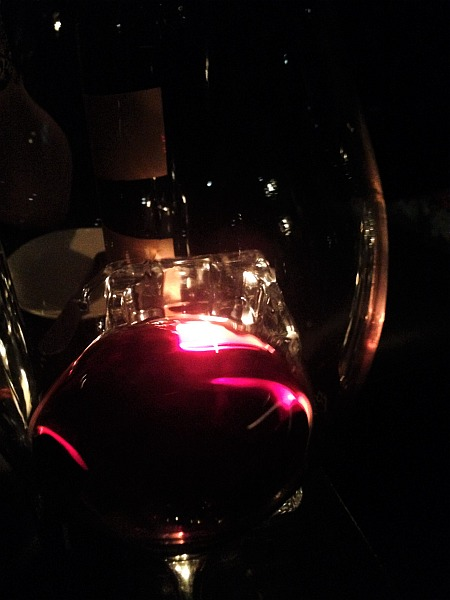 Glamorous Gaucho luxury dining in Piccadilly, London - Glass of Argentinian Red