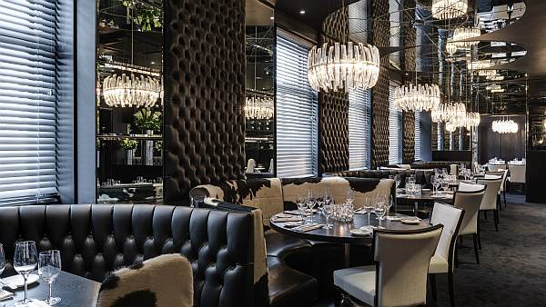 Glitzy Gaucho Luxury Dining Piccadilly London Gentlemans