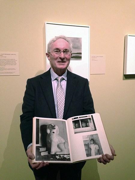 V&A Paul Strand, Photographer & Film-maker, book showing