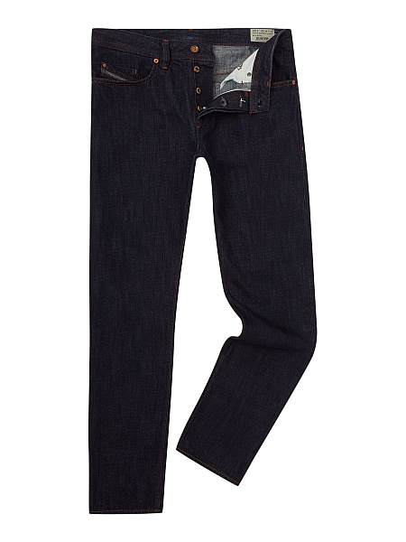 Gentlemans Butler Top 5 Luxury Jeans - Diesel Buster 076C Tapered Fit Stretch Jeans