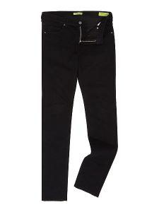 Gentlemans Butler Top 5 Luxury Jeans - Versace Jeans Tiger slim fit black jeans