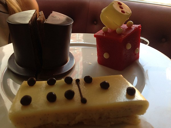 St.James's Hotel and Club Afternoon Tea - Luxury cakes