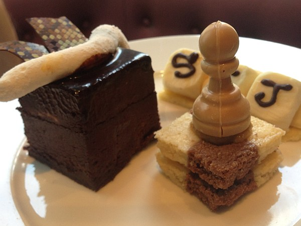 St.James's Hotel and Club Afternoon Tea - Board game cakes