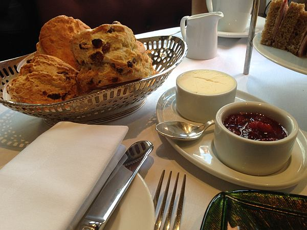 St.James's Hotel and Club Afternoon Tea - Scones and Jam