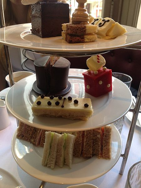 St.James's Hotel and Club Afternoon Tea - Tower of Sandwiches & Cakes