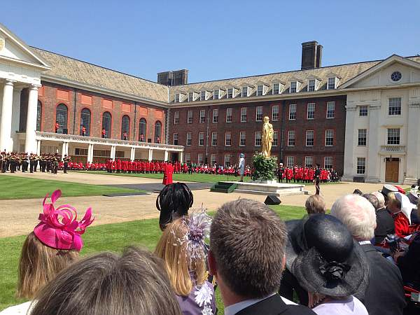 The Royal Hospital Chelsea's Founder's Day - Audience & Parade & Princess Royal