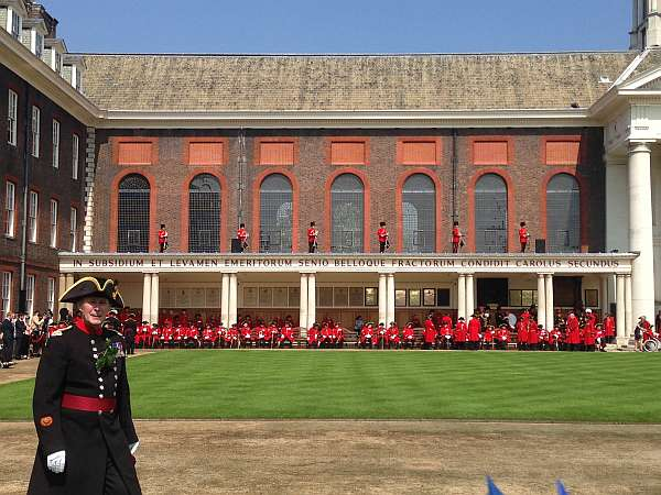 Day - Chelsea Pensioners & Gary Lloyd