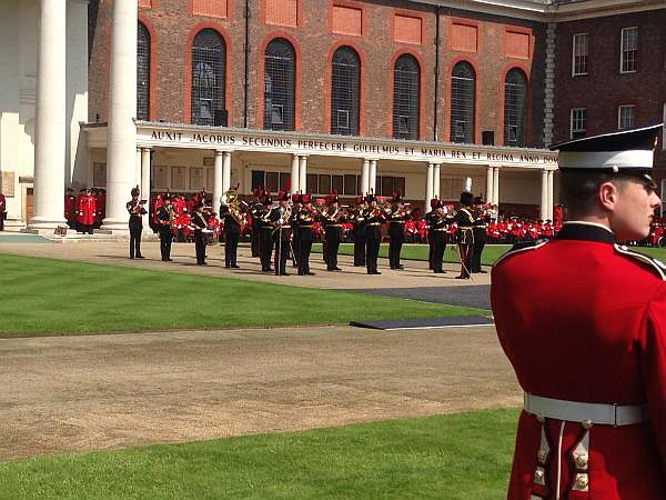 The Royal Hospital Chelsea's Founder's Day - Parade Band
