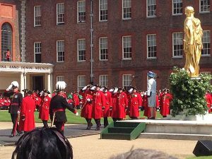 The Royal Hospital Chelsea's Founder's Day - Saluting the Princess Royal
