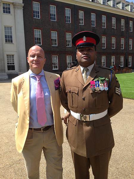 The Royal Hospital Chelsea's Founder's Day - With Victoria Cross medallist Johnson Beharry