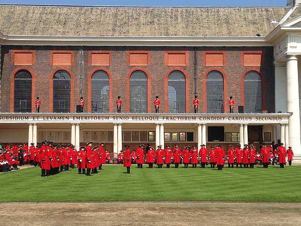 The Royal Hospital Chelsea's Founder's Day On Parade