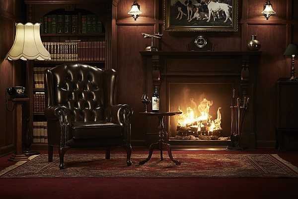 Gentlemans Collection, a fine wine romance, fireside love