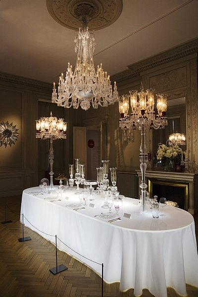 La Belle France - Magrez Luxury Wine Experience - Baccarat Exhibition