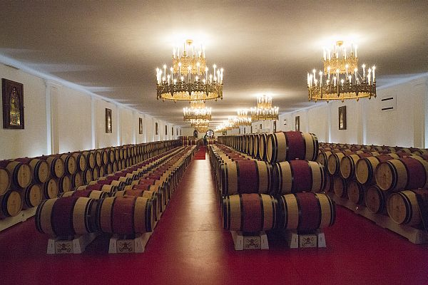 La Belle France - Magrez Luxury Wine Experience - Barrel Room