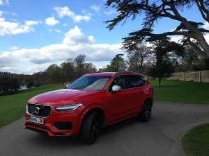 Volvo KC90 Tour of the West Country - In the beautiful grounds of Blenheim Palace