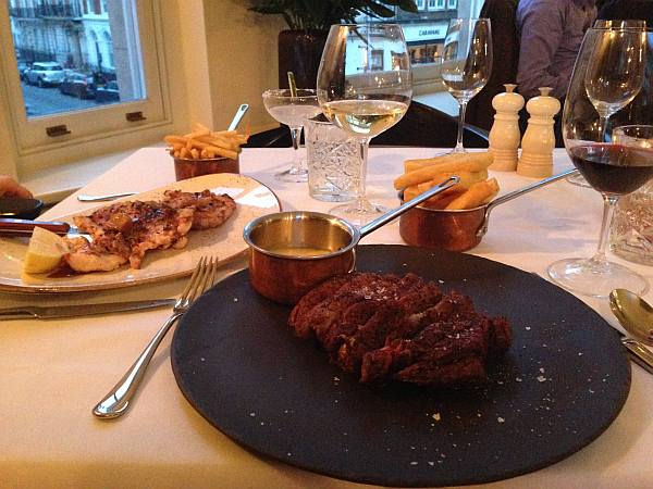 35 New Cavendish, relaxed luxury Marylebone restaurant - Beef & Chicken