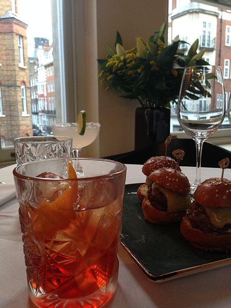 35 New Cavendish, relaxed luxury Marylebone restaurant