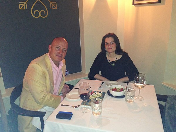 35 New Cavendish, relaxed luxury Marylebone restaurant - Catching up with a friend