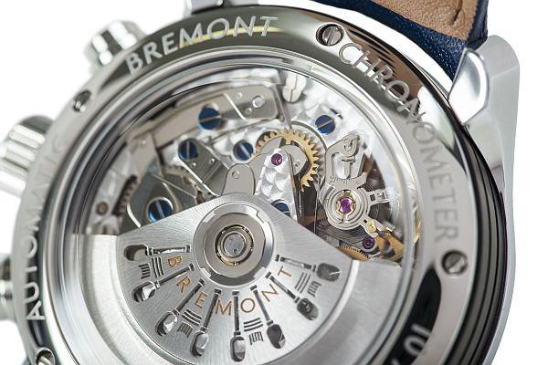 Bremont luxe deluxe watch for gentlemen- Bremont Exclusive, workings of inside