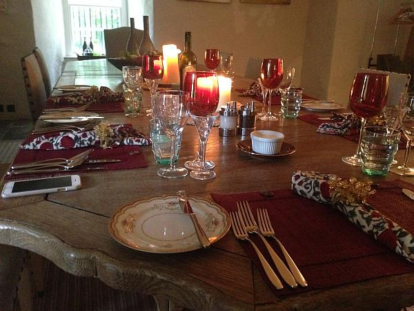 Cranshaws Castle, luxurious Scottish getaway - A well dressed dining table really does add to the experience