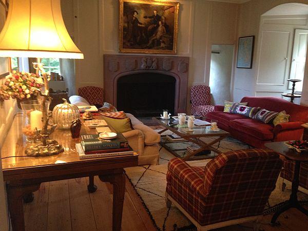Cranshaws Castle, luxurious Scottish getaway - Afternoon tea in peace.