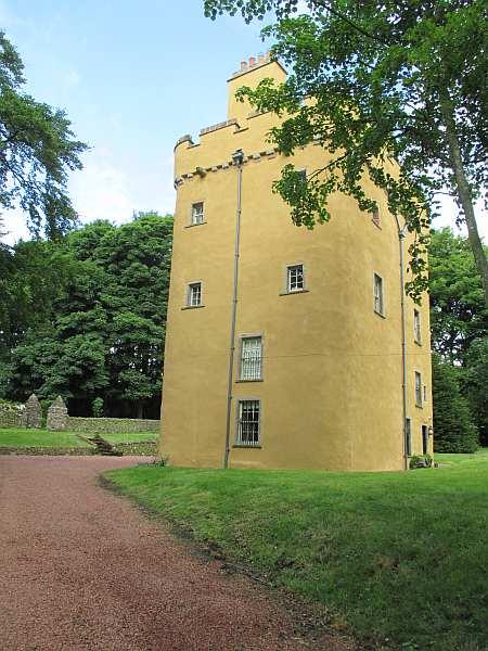 Cranshaws Castle, luxurious Scottish getaway - The home