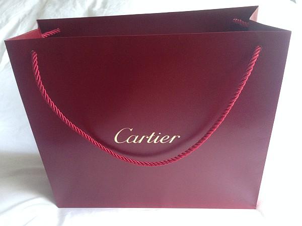 Cartier luxury perfume L'envol at Vinoly Room Skygarden - Cartier bag