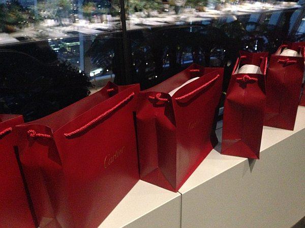 Cartier luxury perfume L'envol at Vinoly Room Skygarden - Cartier bags