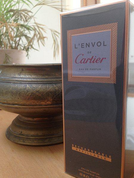 Cartier luxury perfume L'envol at Vinoly Room Skygarden - L'envol in a box