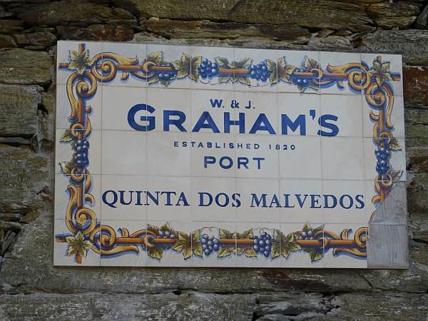 Portugal's refined & luxurious Symington's Port, Douro Valley - Arriving at Graham's Quinta dos Malvedos winery