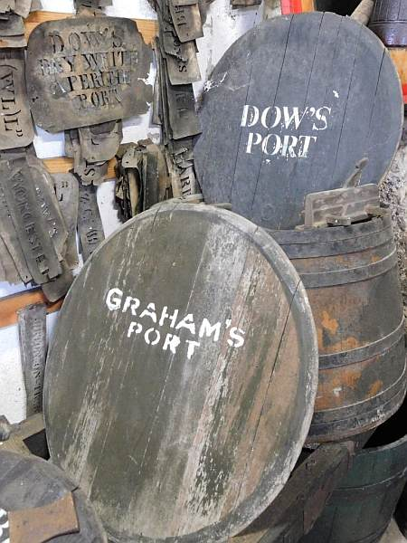 Portugal's refined & luxurious Symington's Port, Douro Valley - A selection of historic templates demonstrates the longstanding trading connection with Britain