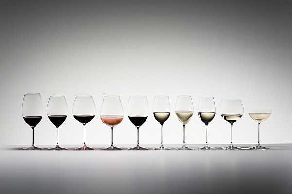 Luxury wines require some Riedel luxury glasses - Veritas group
