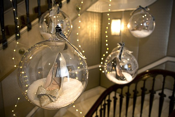 Christmas Shoes for your Princess at St James's Hotel & Club - Christmas with an extra Sparkle