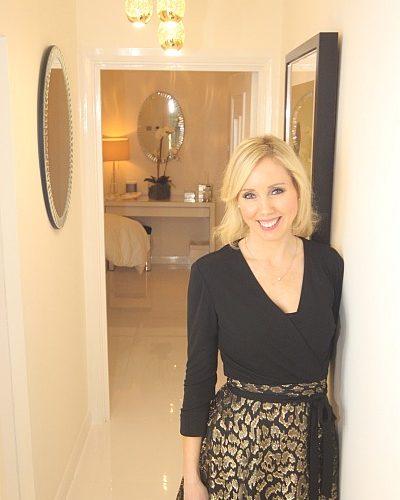 Lisa Franklin luxury Knightsbridge facial pampered in glamour - Lisa Franklin